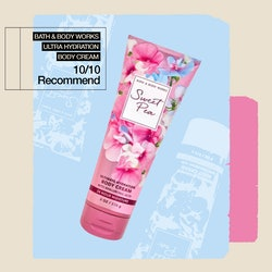 An ode to the very nostalgic Bath & Body Works Sweet Pea Ultimate Hydration Body Cream.