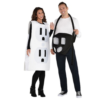 Adult Power Couple Couples Costumes