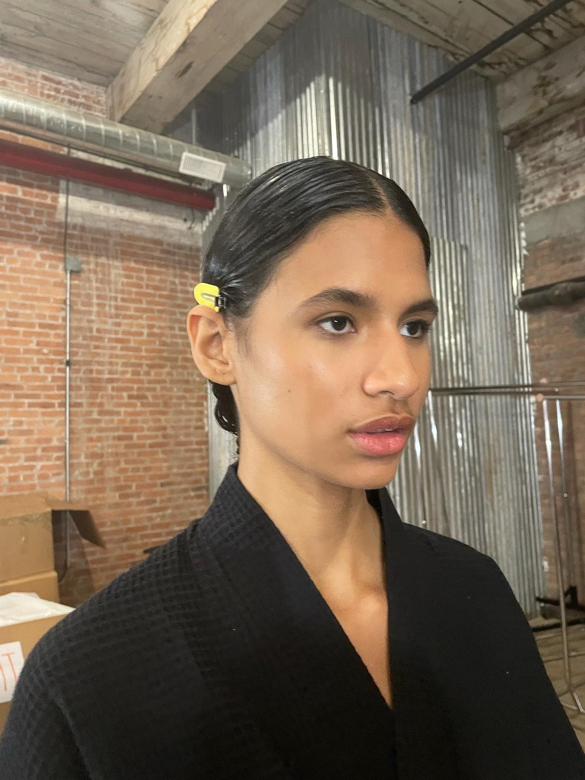 Gabriela Hearst backstage