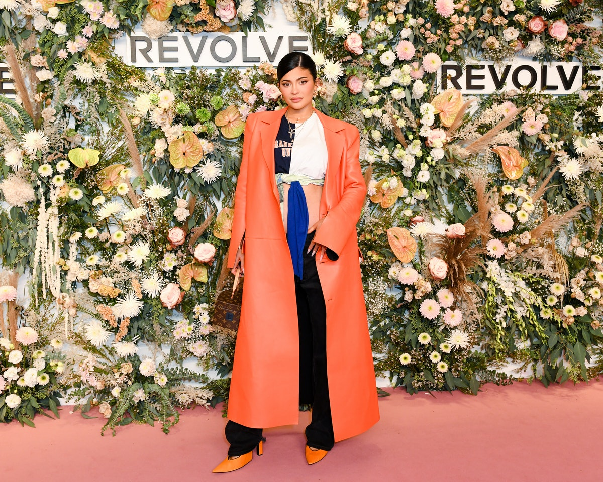 Kylie Jenner at the Revolve Gallery Opening Reception during NYFW in September 2021.