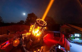 ESO Space laser
