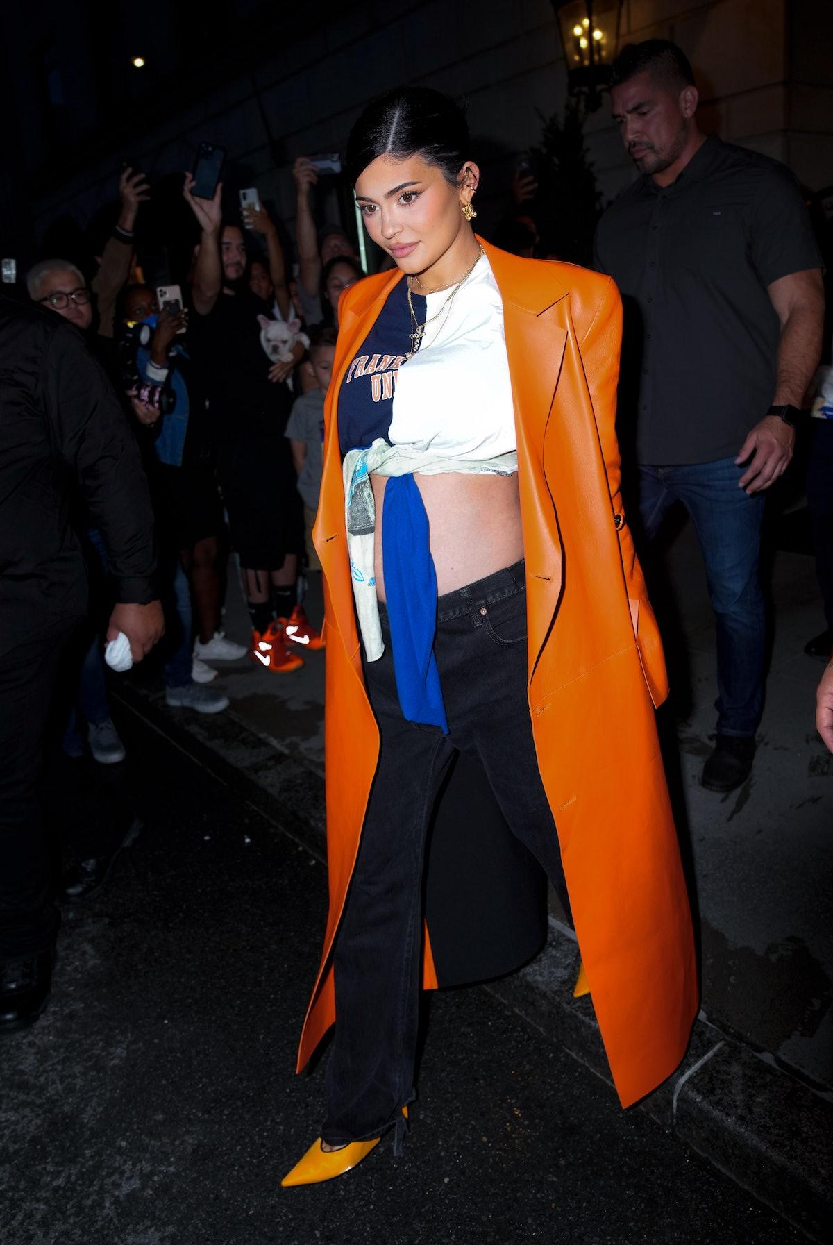 Kylie Jenner is seen on September 09, 2021 in New York City.
