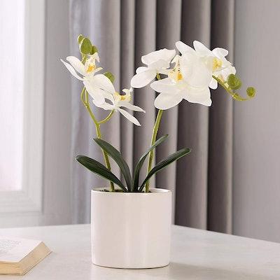 LOUHO Lifelike Large Flower Arrangement