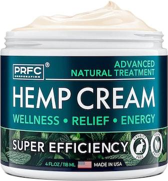 PRFC Hemp Cream, 4 fl. oz.