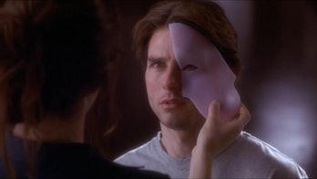 Tom Cruise as David Aames in Vanilla Sky