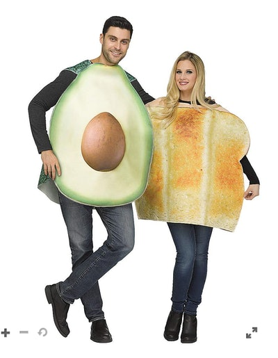 Adult Avocado And Toast Couples Costume