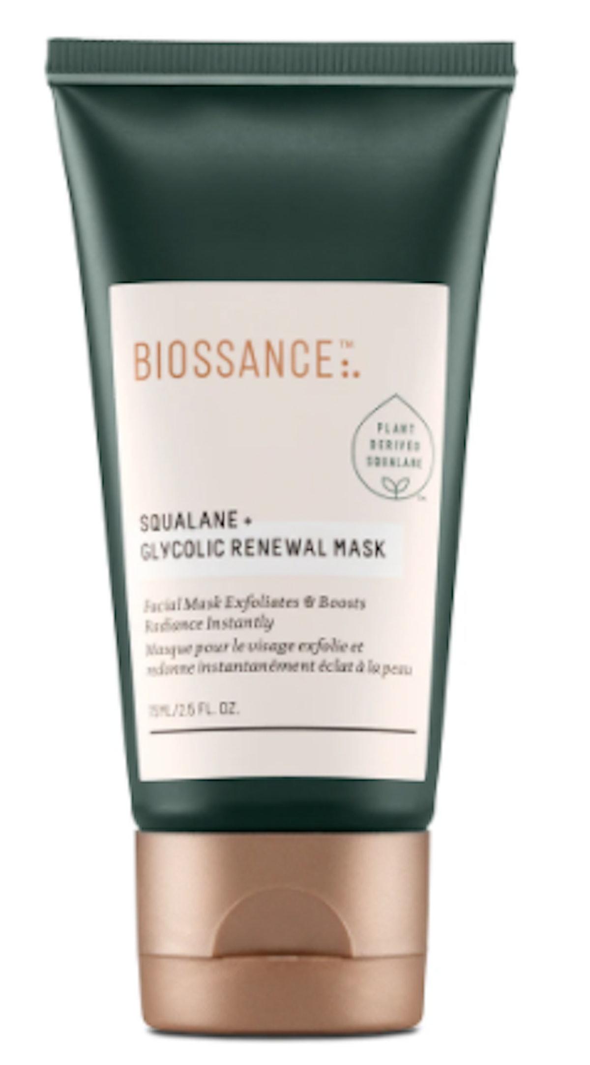 Squalane + Glycolic Renewal Mask