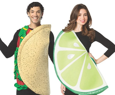 Adult Taco and Lime Couple Costume