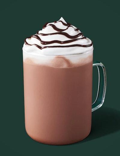 Image of Starbucks Hot Chocolate drink.