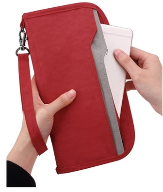 Zoppen RFID Travel Passport Wallet