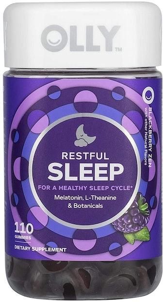 OLLY Restful Sleep Melatonin Gummies (110 Count)