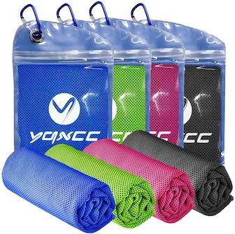 YQXCC Cooling Towels (4-Pack)