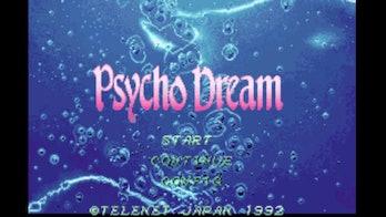 psycho dream title screen