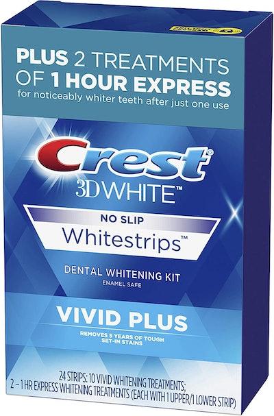 Crest 3D White Whitestrips Vivid Plus Teeth Whitening Kit
