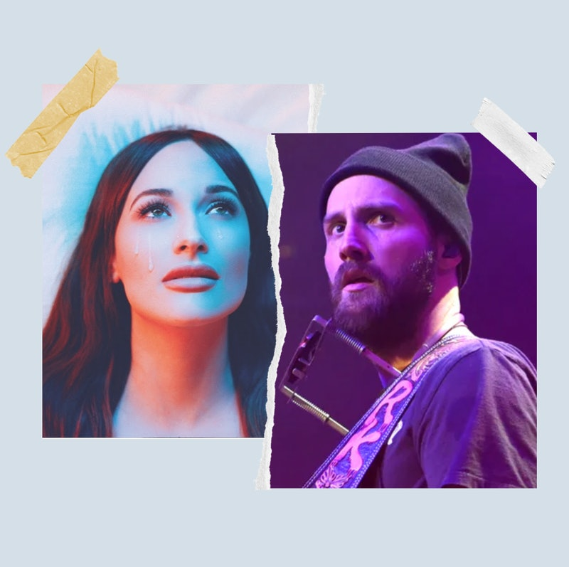 Kacey Musgraves promo art. A photo of Ruston Kelly performing.
