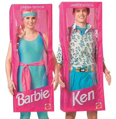 Adult Barbie And Ken Couple Costumes