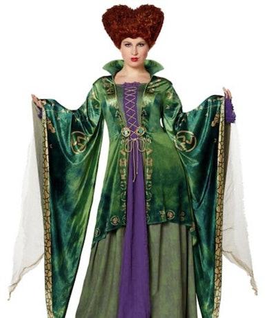Plus-size Winifred Sanderson costume