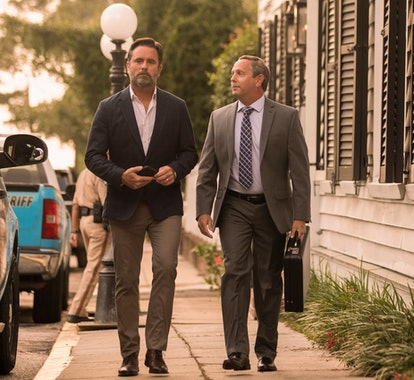 CHARLES ESTEN as WARD CAMERON and ED WAGENSELLER as WARD'S LAWYER