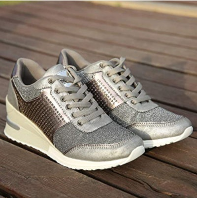 Cestfini High Heeld Wedge Sneakers
