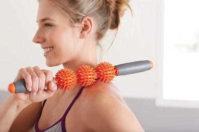 Gaiam Restore Pressure Point Muscle Roller Massage Stick