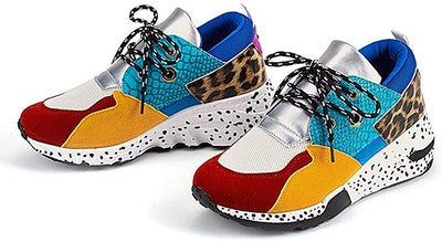 LUCKY STEP Retro Jogger Sneakers