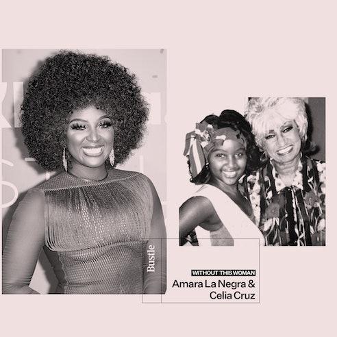Amara La Negra shares how her idol Celia Cruz helped her embrace her Afro-Latina identity