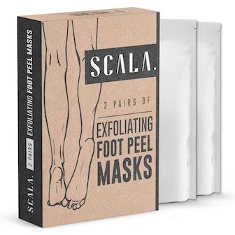 Scala Foot Peel Masks (2 Pairs)