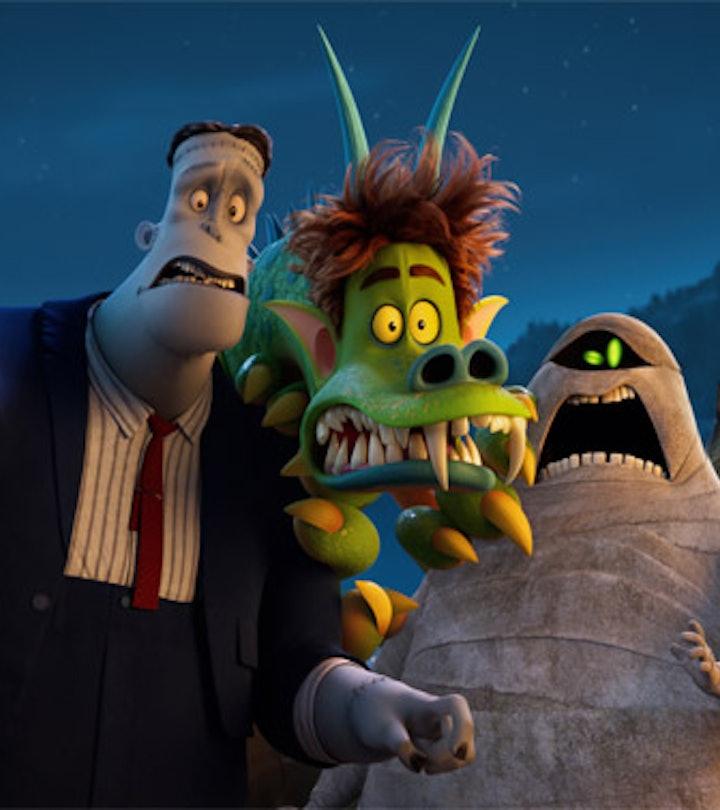 Hotel Transylvania is one of many family-friendly Halloween movies.