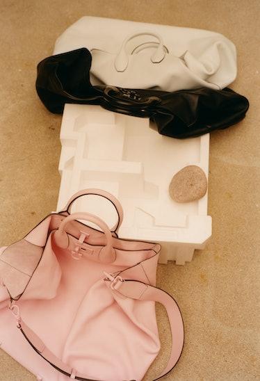 Salvatore Ferragamo bags.
