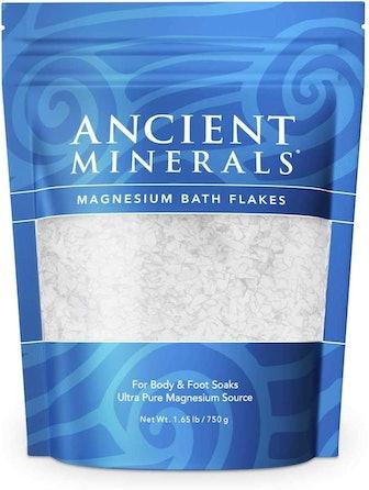 Ancient Minerals Magnesium Bath Flakes, 26.4 oz.