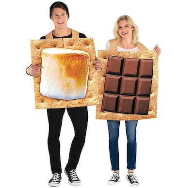 Adult S'mores Snack Couples Costumes