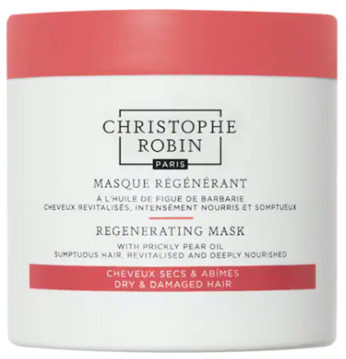 Regenerating Hair Mask with Prickly Pear Seed Oil