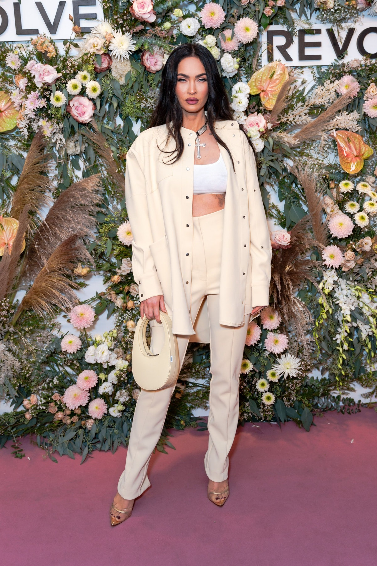 Megan Fox attends the Revolve Gallery at Hudson Yards on September 09, 2021 in New York City.