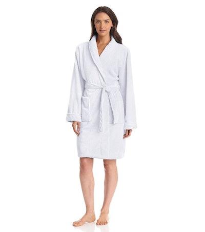 Seven Apparel Hotel Spa Collection Popcorn Jacquard Bath Robe