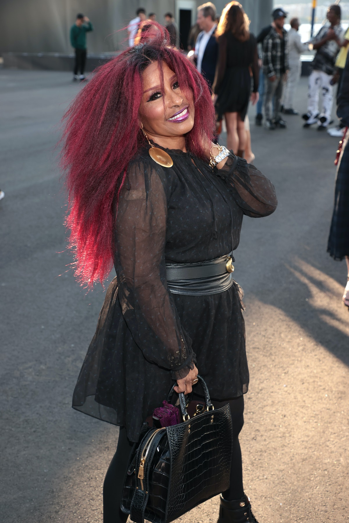 Chaka Khan attends Coach during NYFW: The Shows on September 10, 2021 in New York City.
