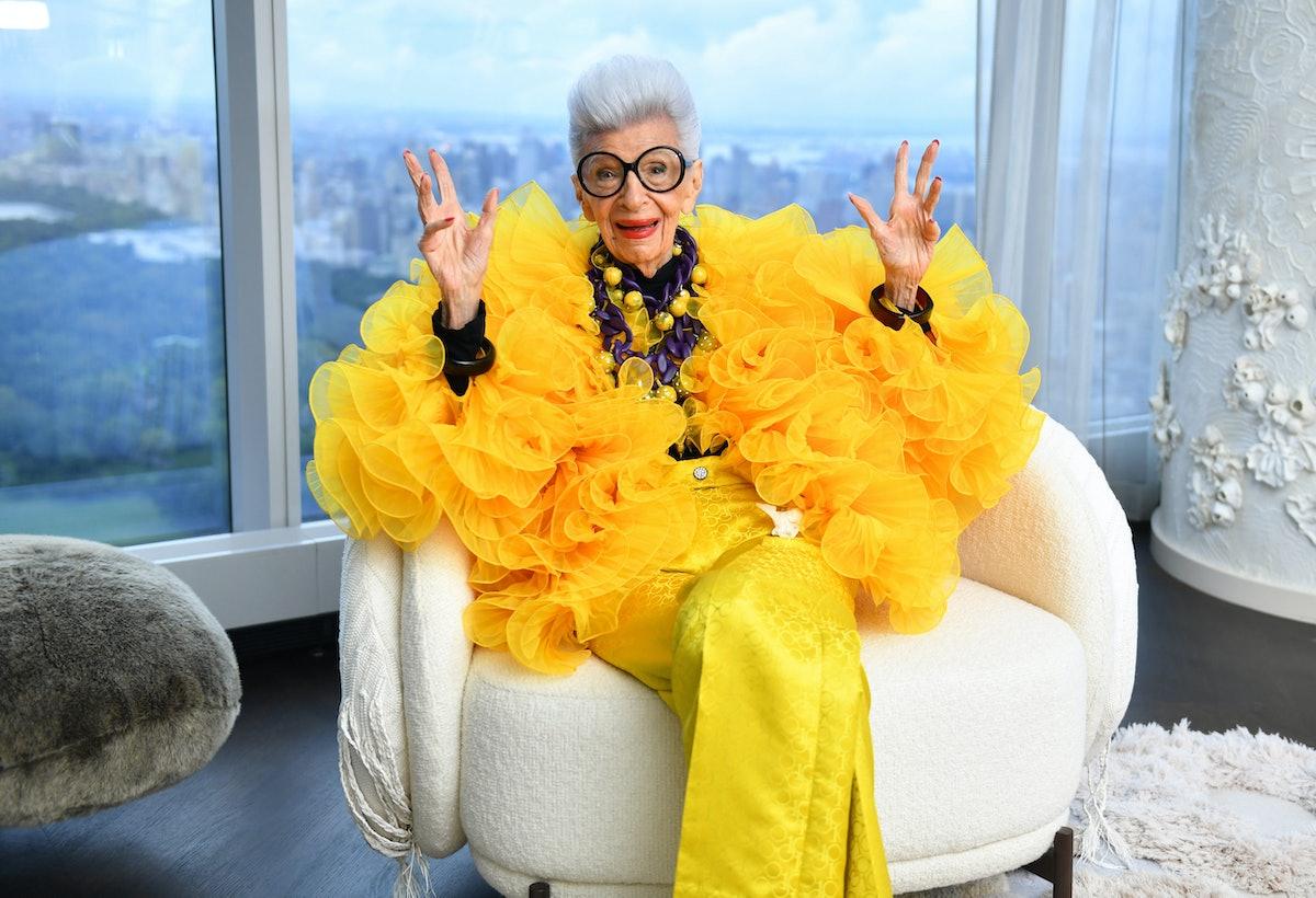 Iris Apfel, now 100