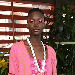 Anna Sui model S/S '22