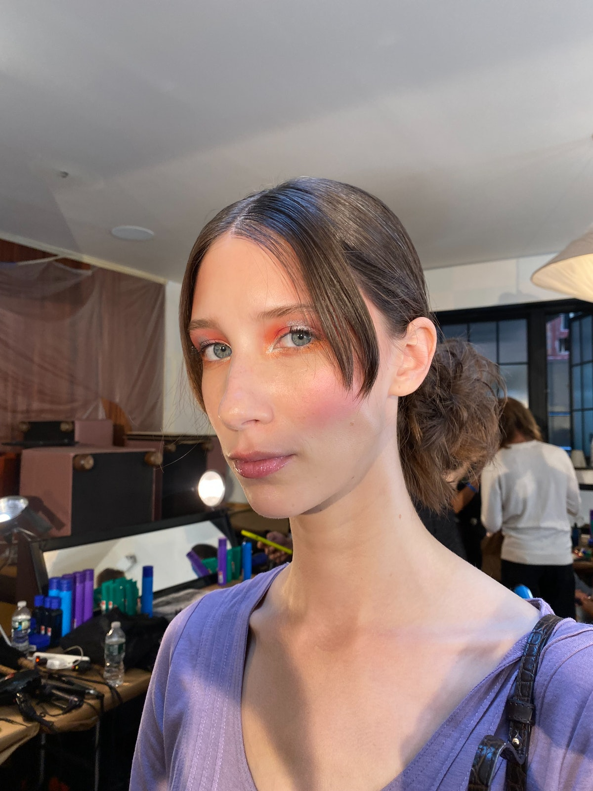 Anna Sui S/S '22 model