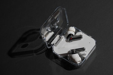 Nothing Ear 1 review: The transparent case scratches easily, but it only adds to character.