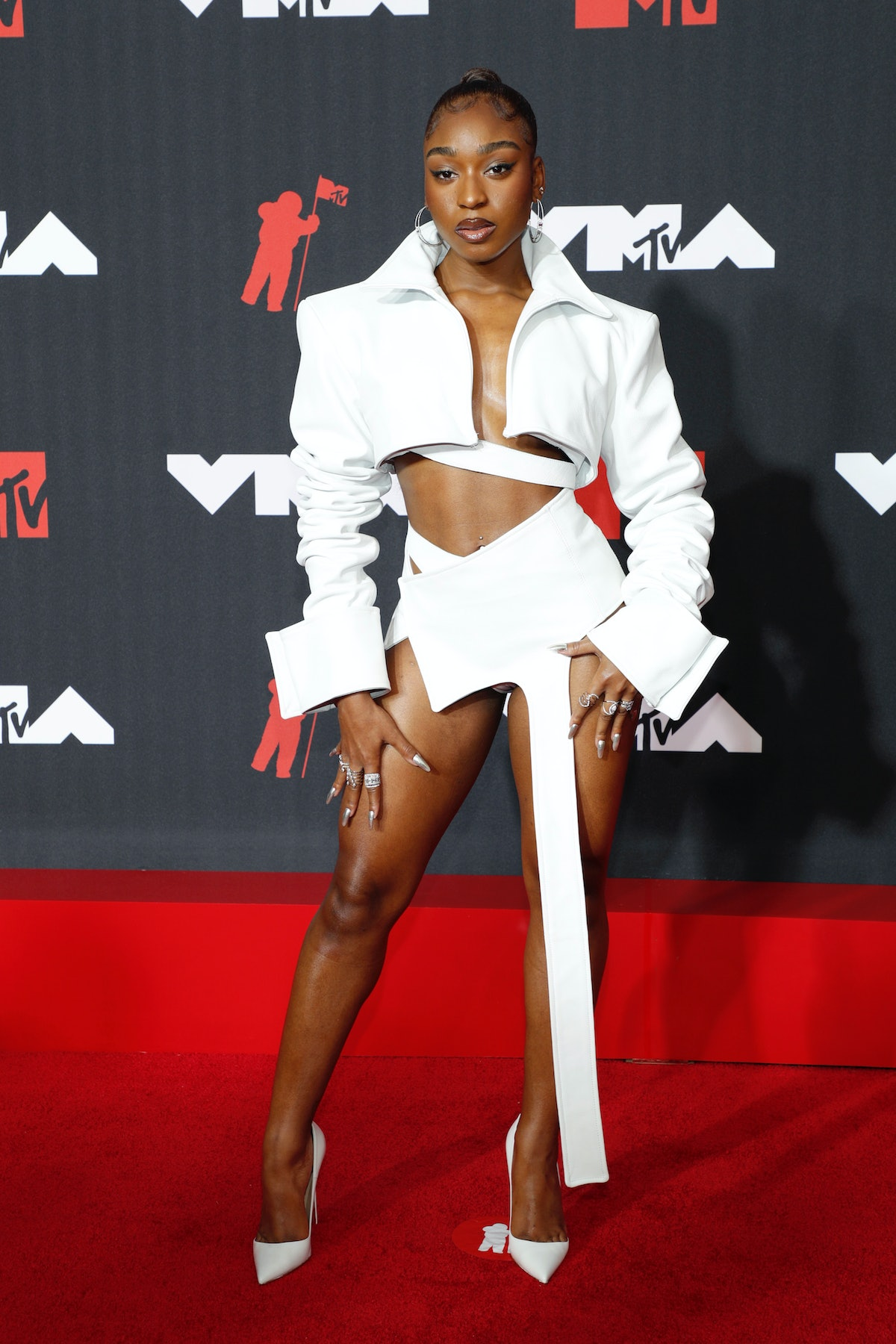 Normani attends the 2021 MTV Video Music Awards at Barclays Center on September 12, 2021 in the Broo...