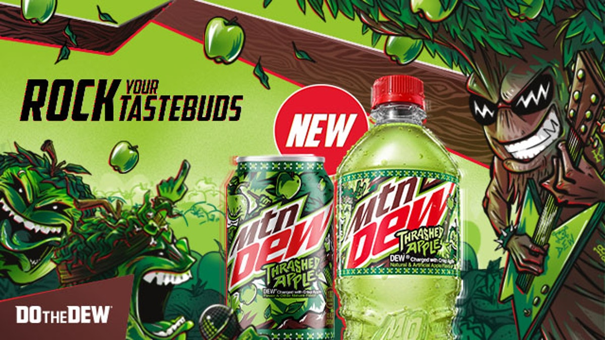Here's where to buy Mountain Dew Thrashed Apple for extreme fall flavors.