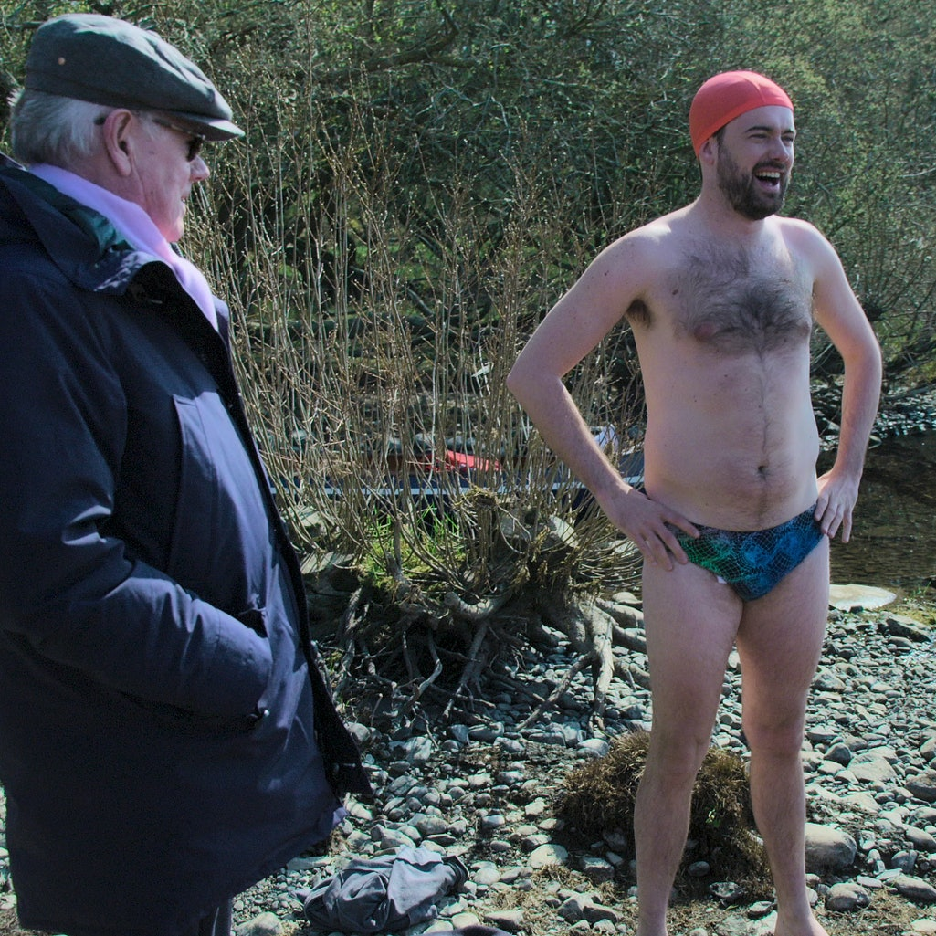 A still from 'Jack Whitehall: Travels With My Father': Season 5, via the Netflix press site.