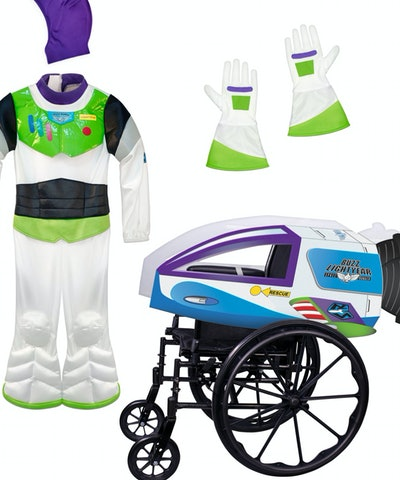 Buzz Lightyear Adaptive Costume Collection for Kids- Toy Story