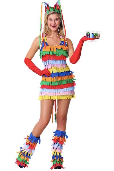 Teenager dressed as Pinata