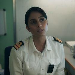 Anjli Mohindra as Tiffany Docherty in BBC's 'Vigil'