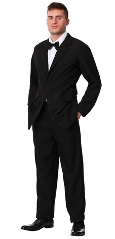 You can get a suit for cheap from Halloween stores if you want to portray Big from 'Sex and the City...