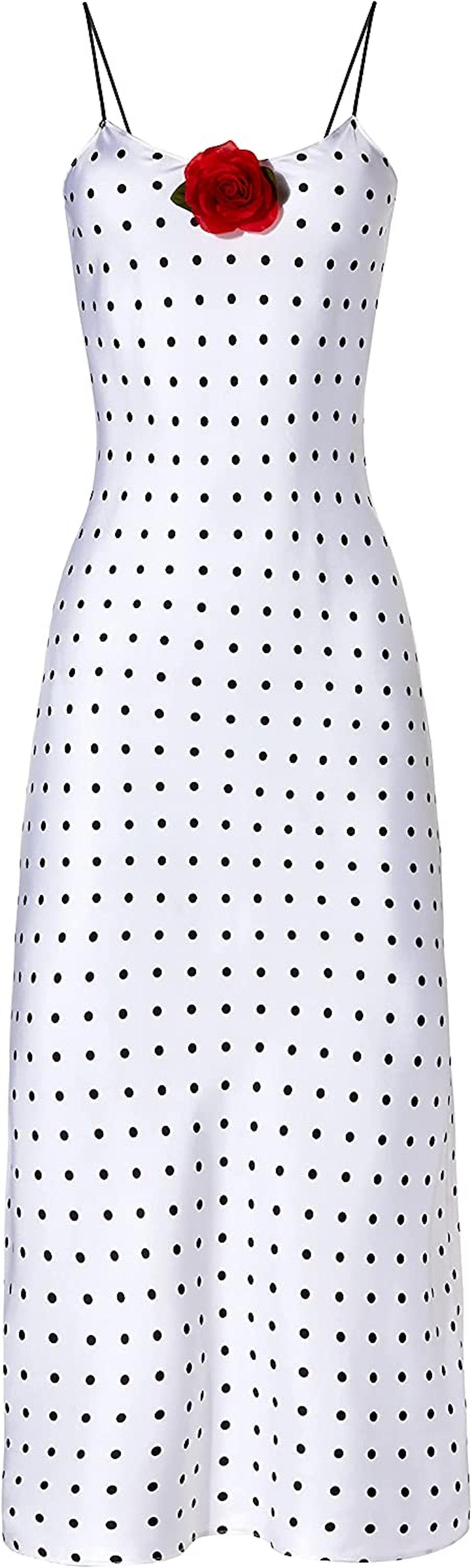 Rodarte Polka Dot Slip Dress