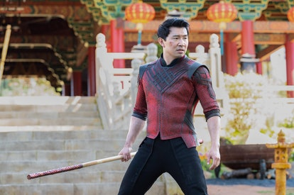 'Shang-Chi and the Legend of the Ten Rings' star Simu Liu in a still from the film.