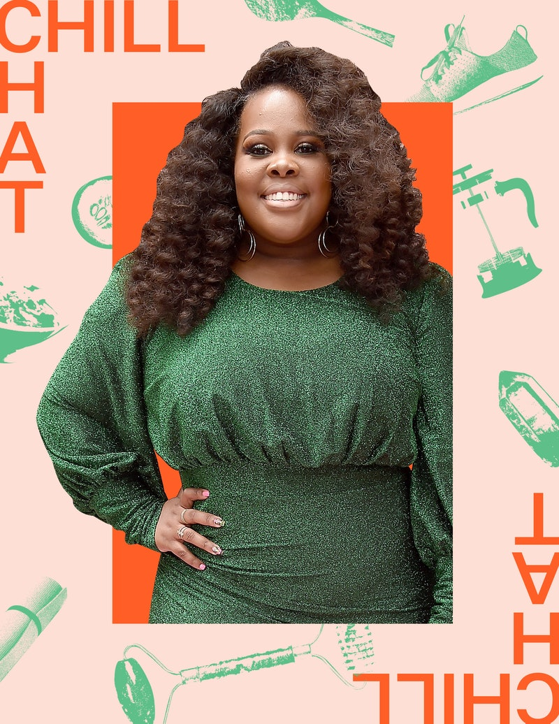 Amber Riley shares her wellness routine and go-to self-care practices.