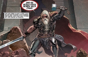 King Thor takes a stand in Thor: God of Thunder Vol. 1 #1